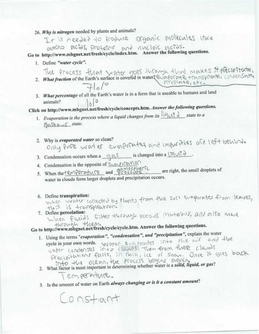 Uncategorized The Carbon Cycle Worksheet unit 6 marine ecology allan grant biology crash course hydrologic and carbon cycle worksheet